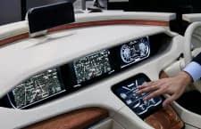 Panasonics Vision von der Zukunft des Autofahrens