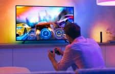 Mit dem Philips Hue Play Gradient Lightstrip kann jeder TV mit Ambilight nachgerüstet werden