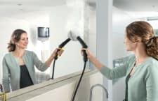 Mit einem Dampfreiniger lassen sich viele verschiedene Oberflächen reinigen