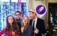 Alexa sorgt auf der Silvesterparty mit Feuerwerkssound für gute Stimmung