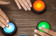 Mit den Echo Buttons kann man lustige Spiele machen oder Routinen auf Knopfdruck abspielen